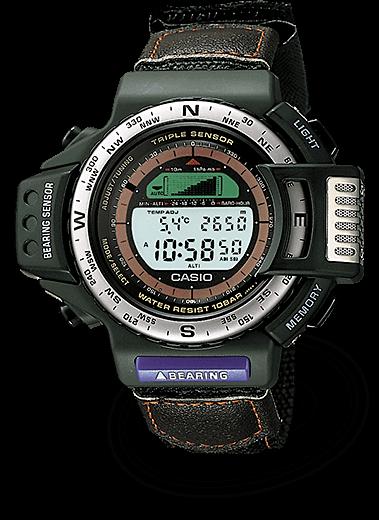 82a268383bb CASIO PRO TREK  orologi funzionali per gli amanti delle attività outdoor