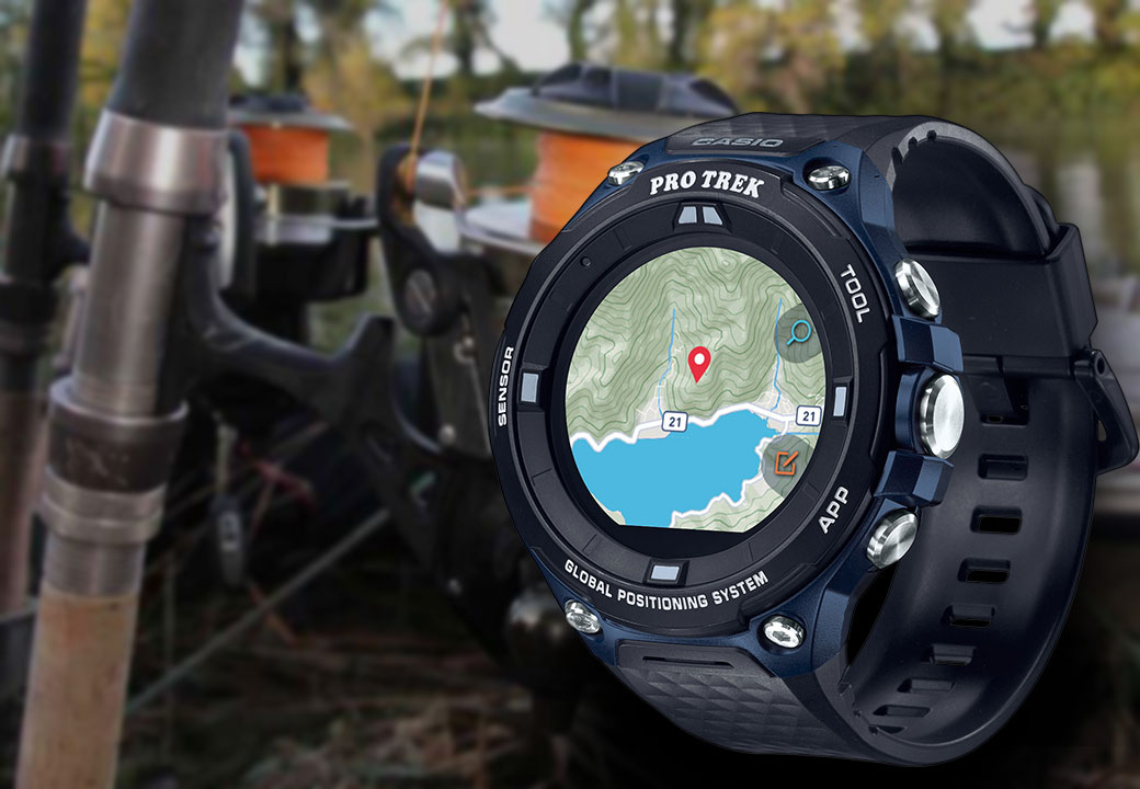Perfecto para pescadores: indicador de bajamar y pleamar integrado del PRW-2500-1ER