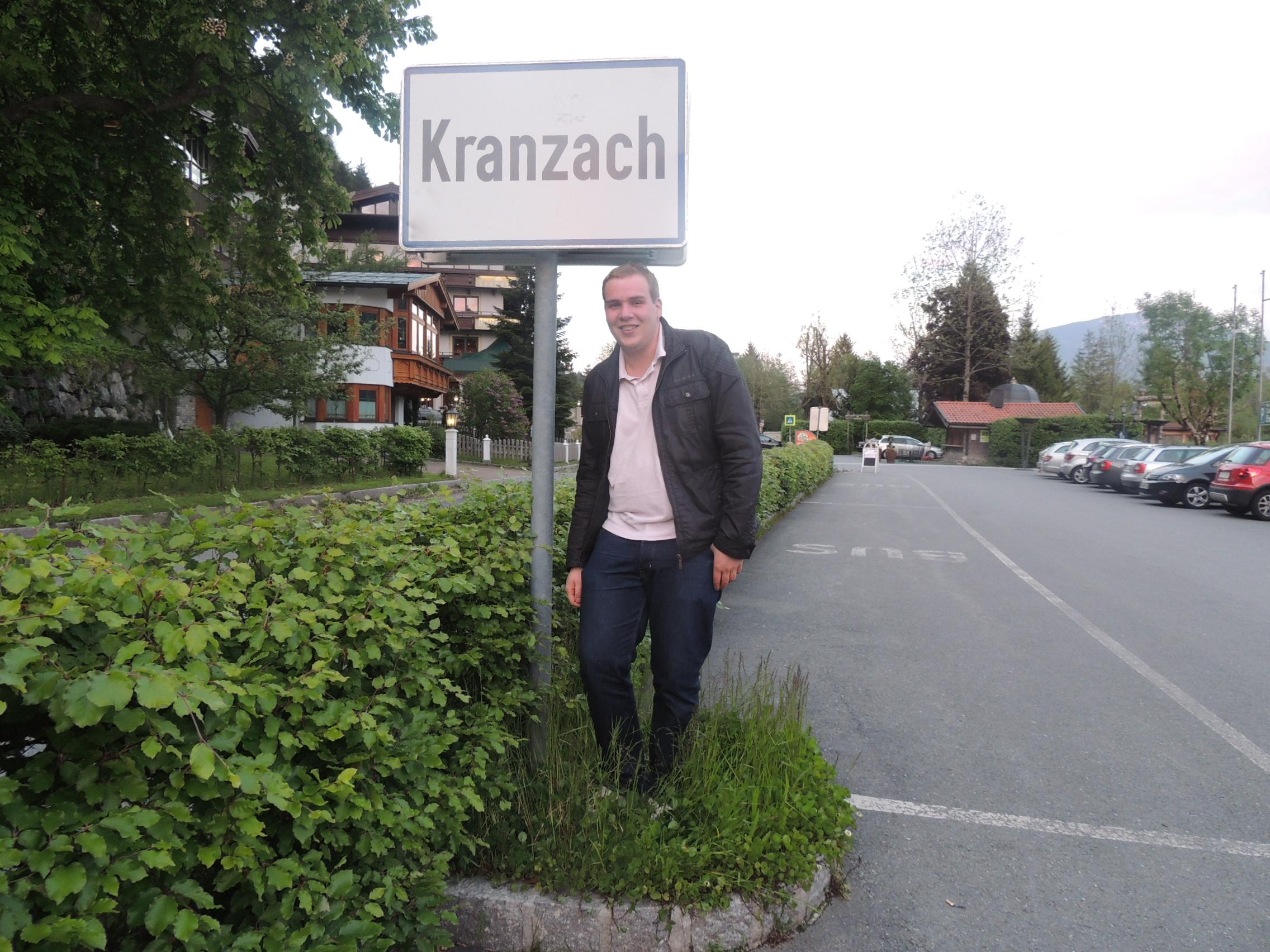 Welcome in Kranzach (Chris)