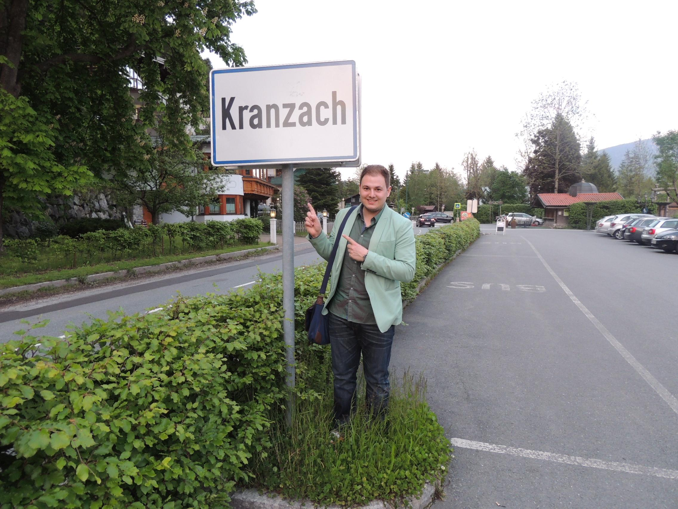 Welcome in Kranzach (Josh)