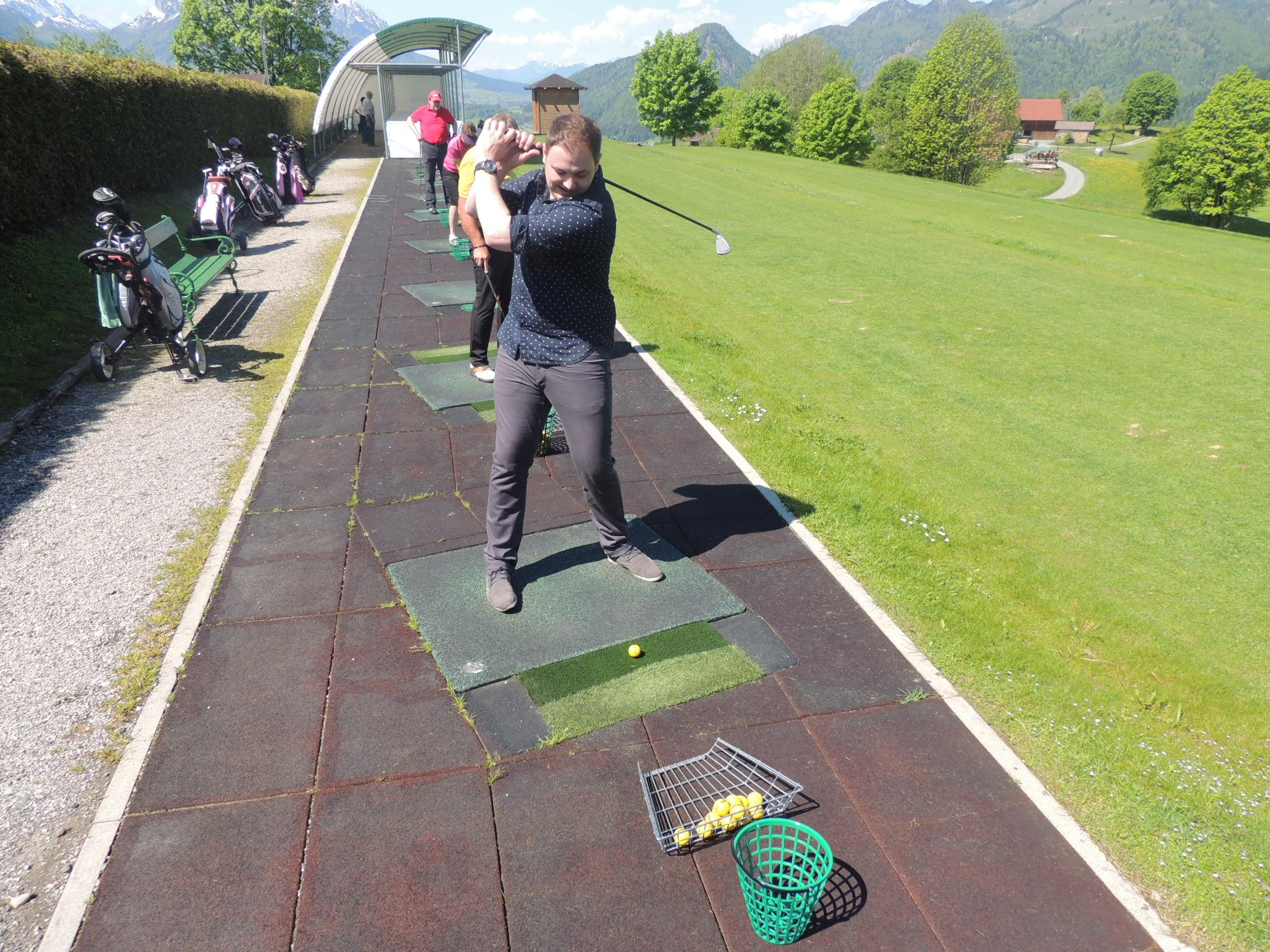 Golfstunde Reit im Winkl