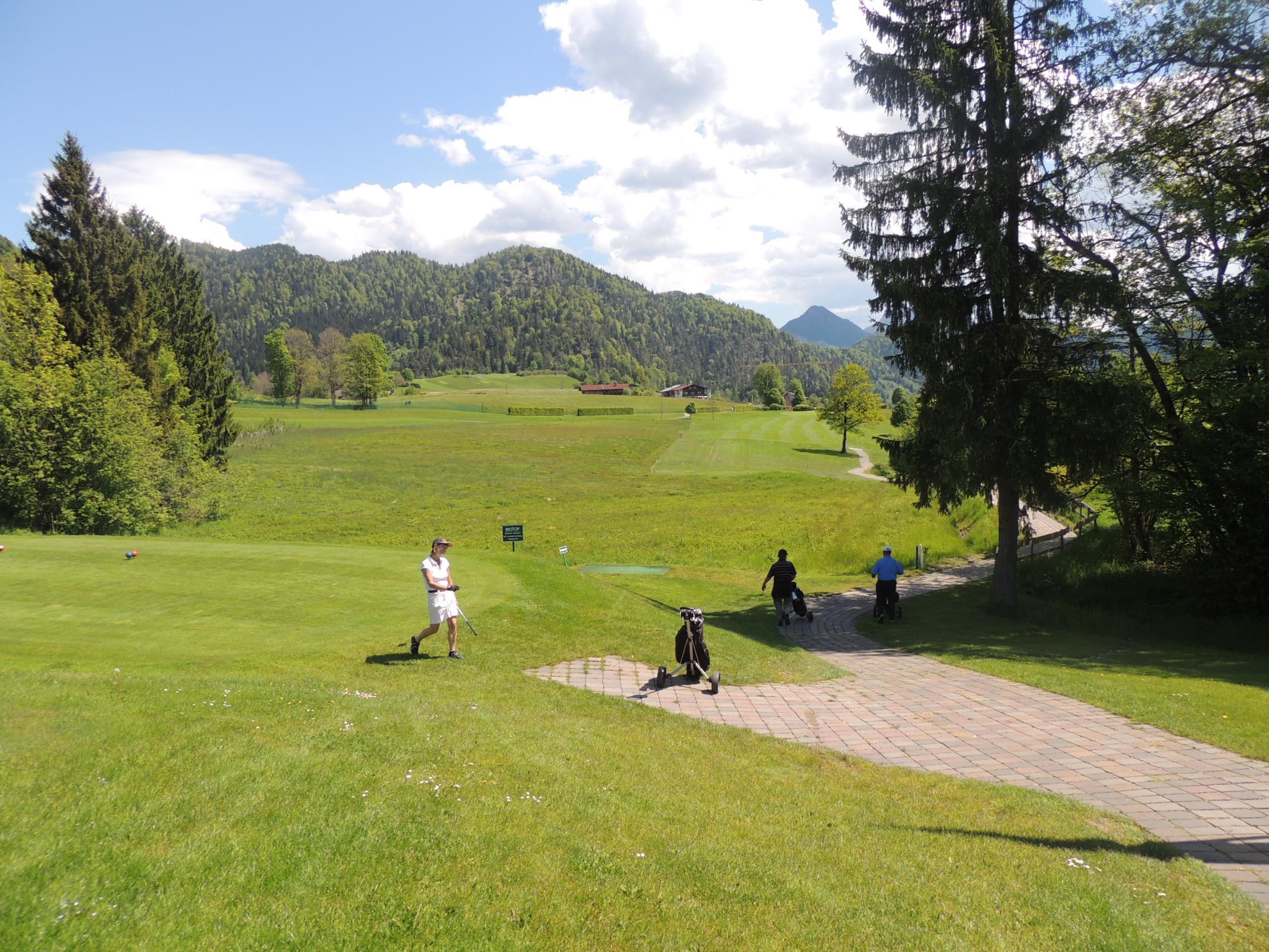Golfspieler Reit im Winkl