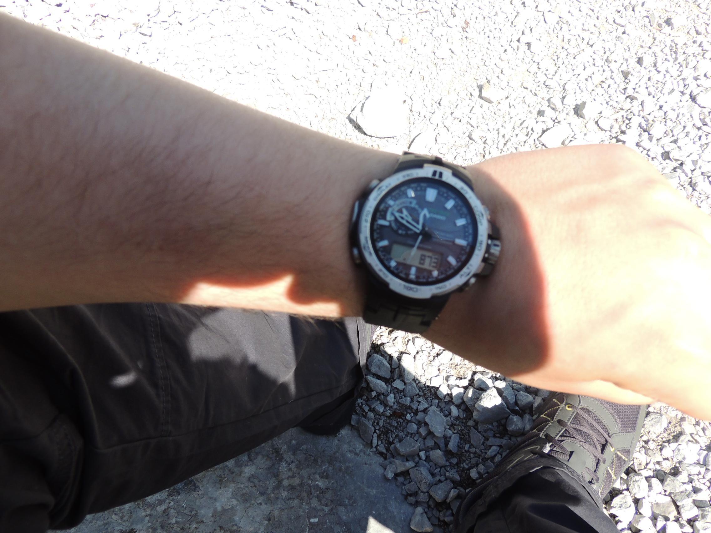 Das Barometer der PRO TREK