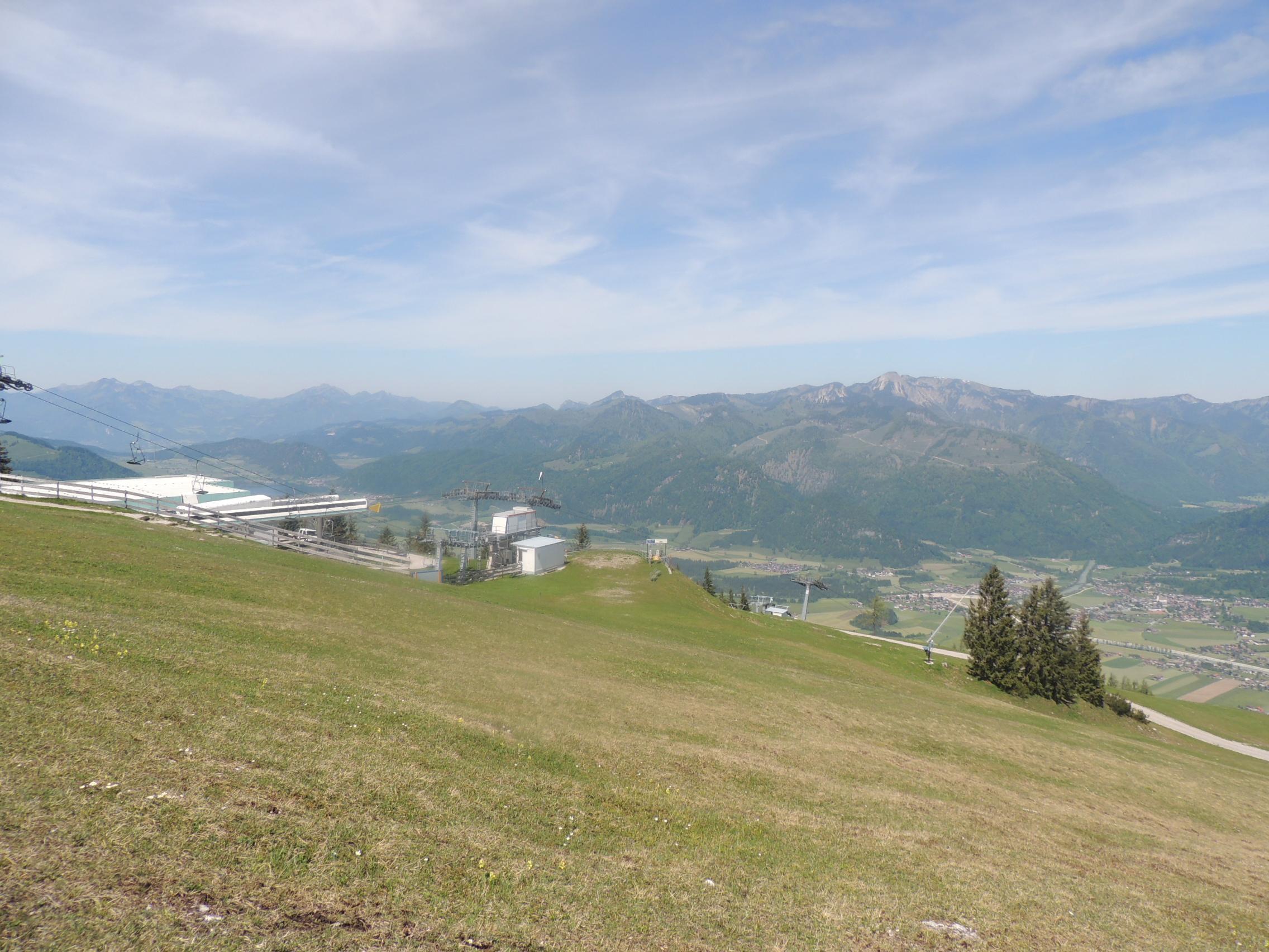 Die Aussicht vom Paragliding-Startplatz