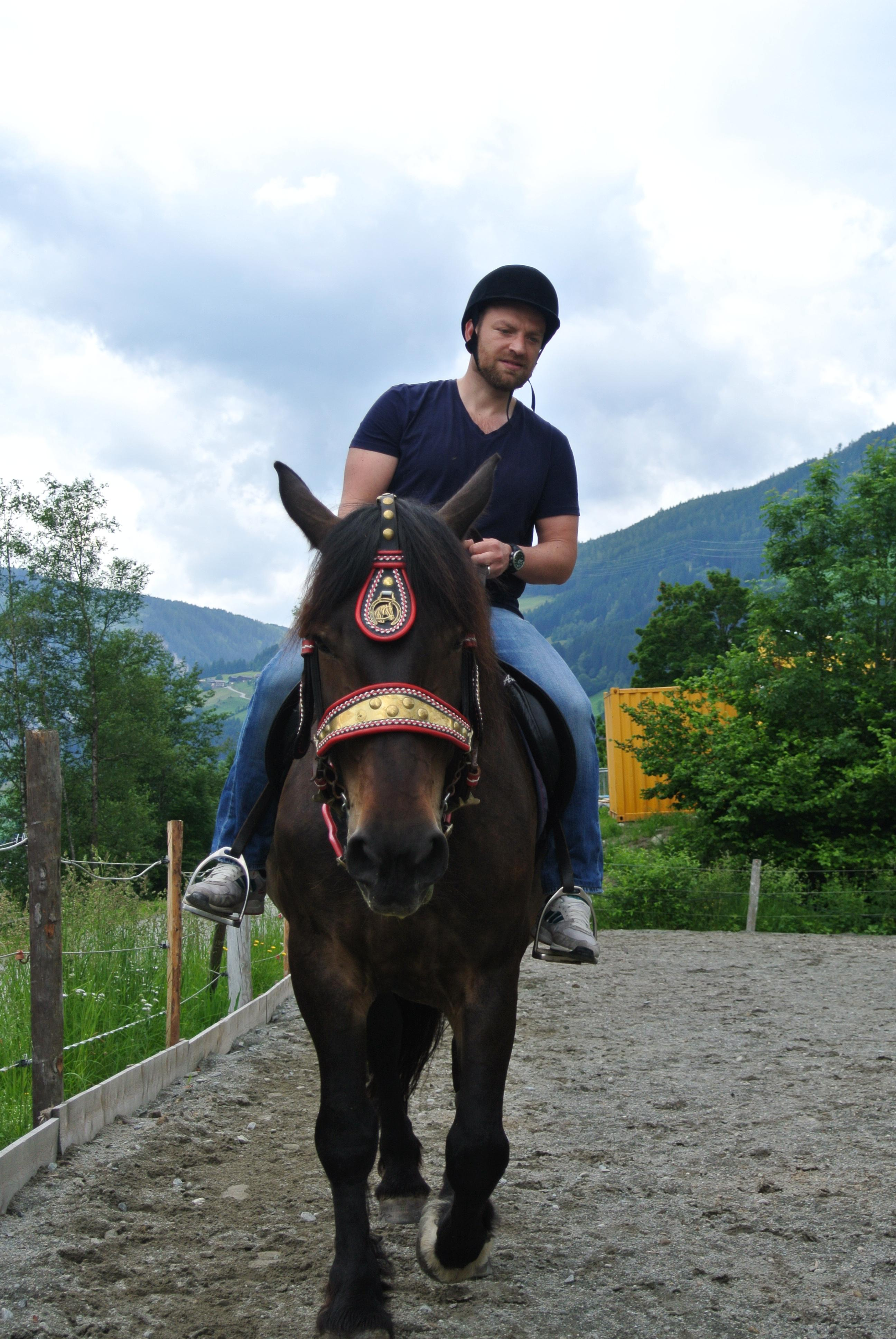 Umsichtiger Reiter