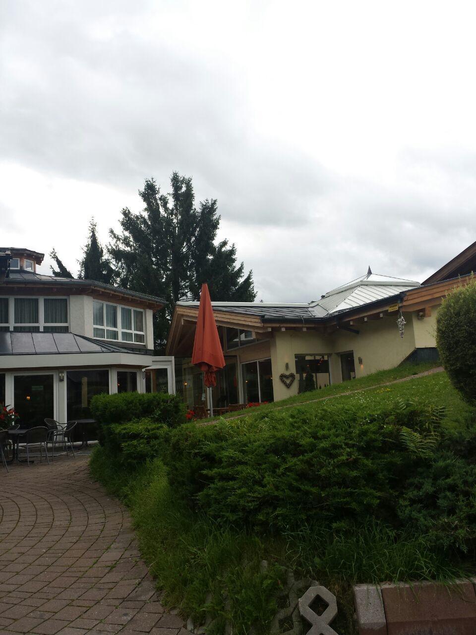 Die Hotelanlage