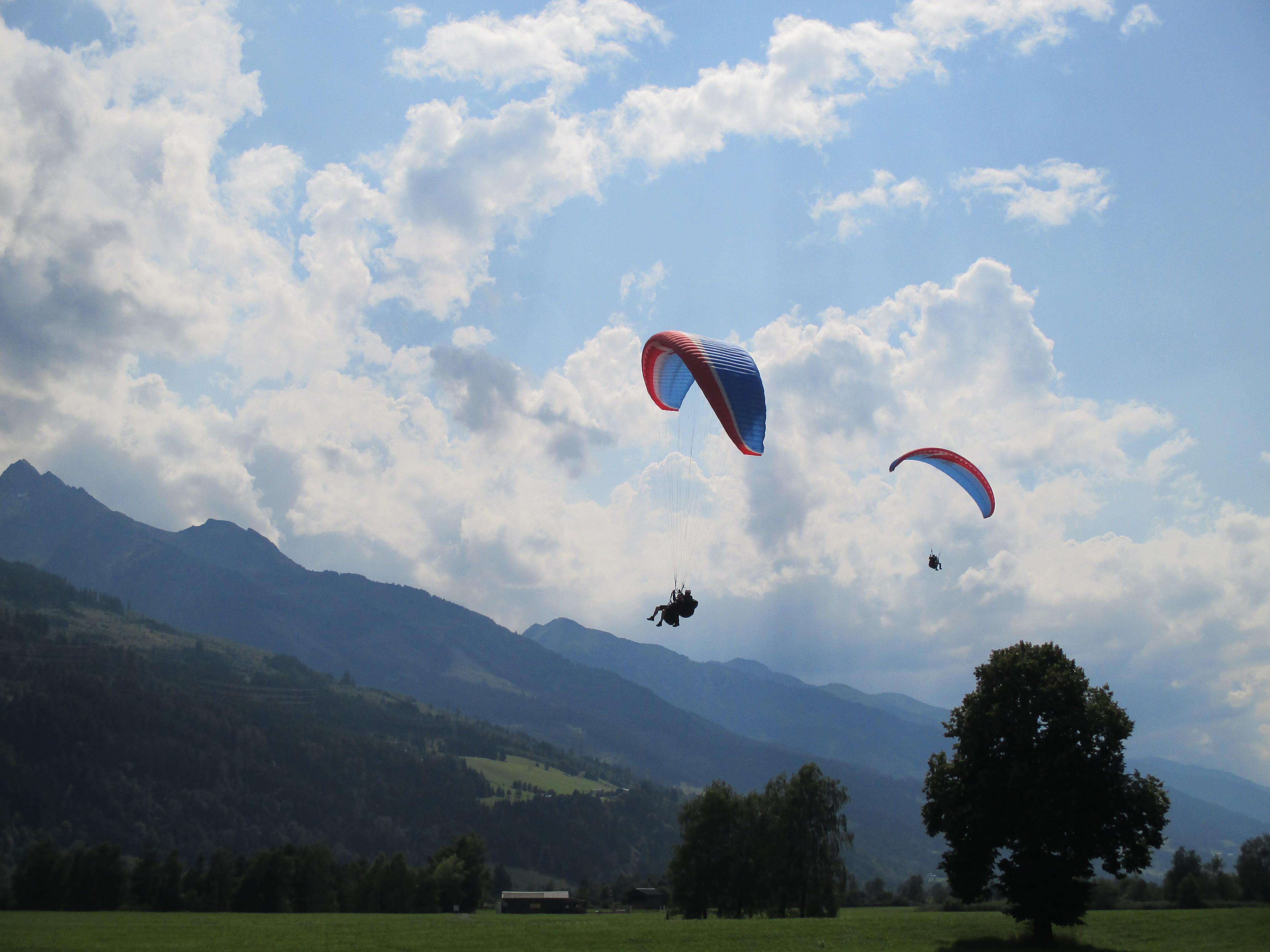 Kristian beim Paragliden 3