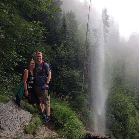 schleierwasserfall Feli Rene