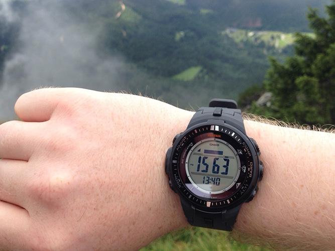 Bergsteiger Grab Höhenmeter