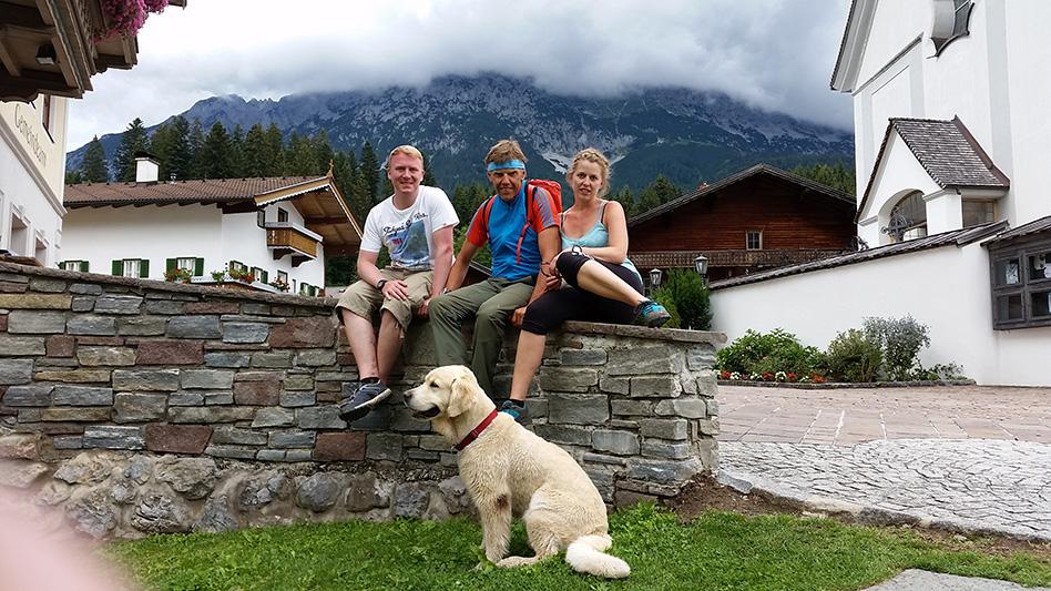 Der Abschied in Scheffau Rene Andreas Fel Jasper