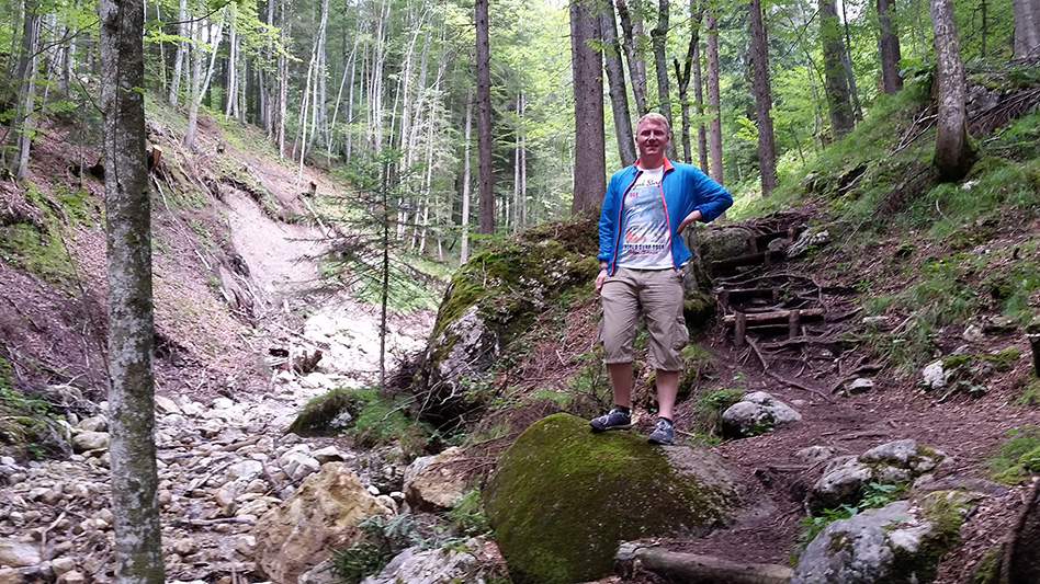 Ein Stein aus der Eiszeit, Rehbachklamm
