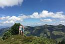 Aufstieg Feli & Rene
