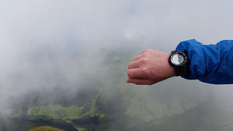 Gipfel 2425m