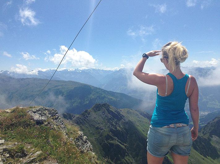 Gipfel Feli Ausblick