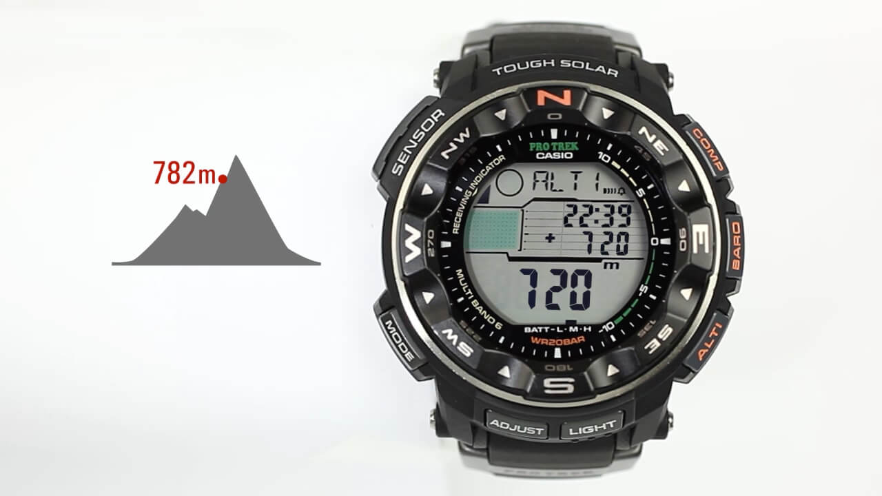 watches the altitude with protrek and prw shop outdoor mens adventure casio l