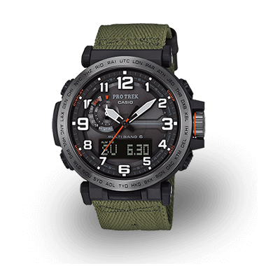 444895430 Watch models from CASIO PRO TREK for outdoor and trekking enthusiasts