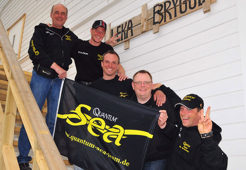 Passionate anglers: the Quantum Sea team around Hausmann and Weide