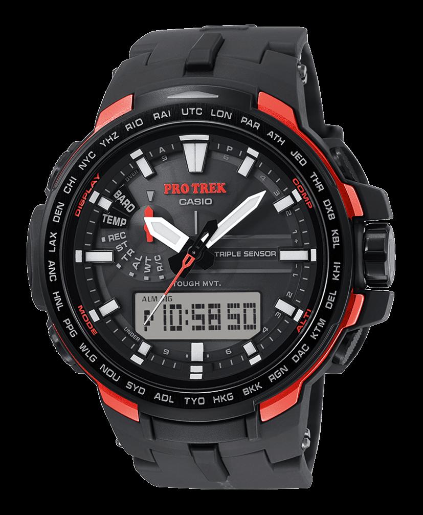 orologi casio pro trek 2016